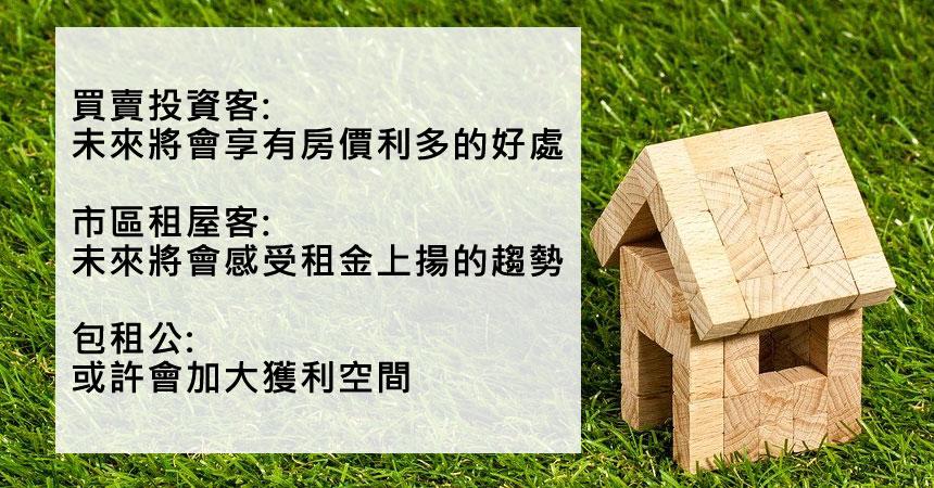 老屋政策3大趨勢解析